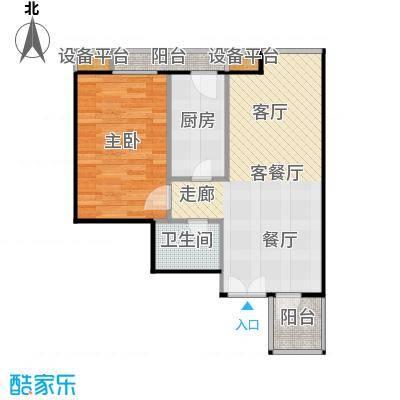 西成忆树13号楼三单元05-四单元01户型
