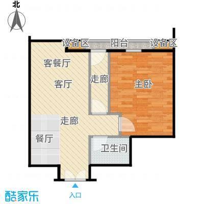 西成忆树13号楼三单元01户型