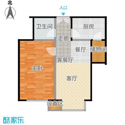 西成忆树13号楼四单元03户型
