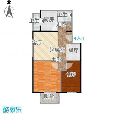 晶城秀府59.62㎡A10三至十三层户型10室