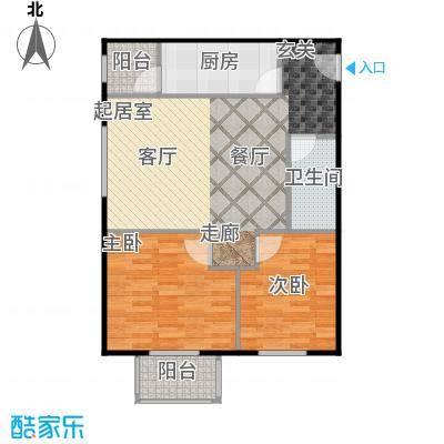 晶城秀府71.61㎡A6四至十三层户型10室