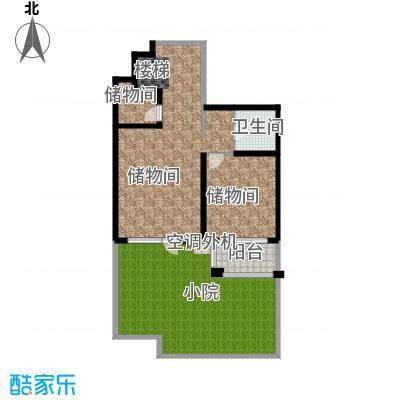 香湾(晶城秀府)136.26㎡下跃层A1户型