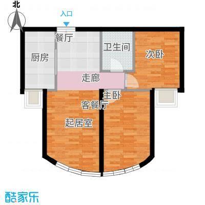 新华联运河湾87.08㎡K-2户型10室