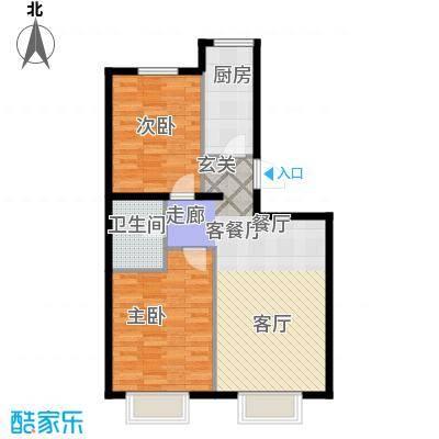 新华联运河湾88.02㎡H2反户型10室