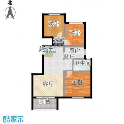 北京城建徜徉集95.00㎡A2-2户型10室
