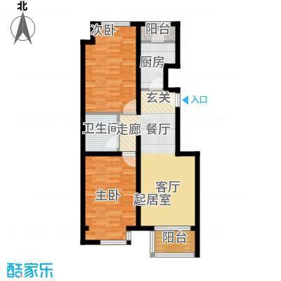 首创・芭蕾雨悦都N°580.00㎡三四层户型2室2厅1卫
