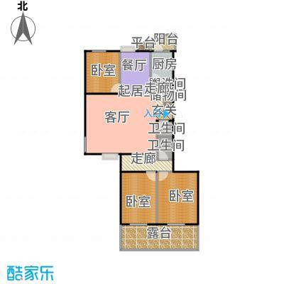 润景家园143.03㎡79#楼C户型