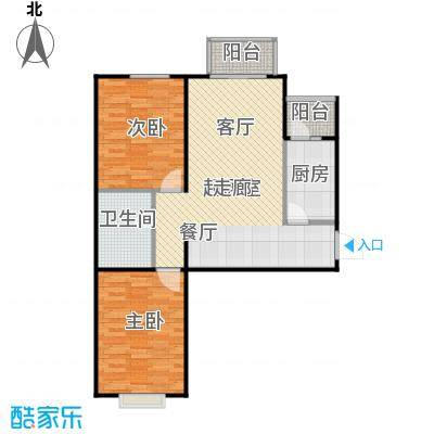 瑞雪春堂89.75㎡B6户型10室