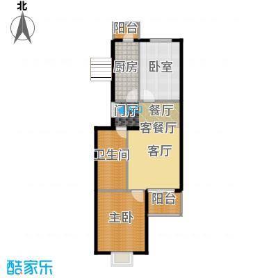 翠福园(翠福星城)86.00㎡33号楼a左户型10室