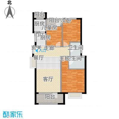 花墅香醍(龙湖・花盛香醍)114.00㎡19#I户型10室