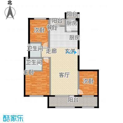 花墅香醍(龙湖・花盛香醍)133.00㎡19#J户型10室