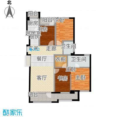 花墅香醍(龙湖・花盛香醍)132.00㎡19#I1户型3室2卫1厨
