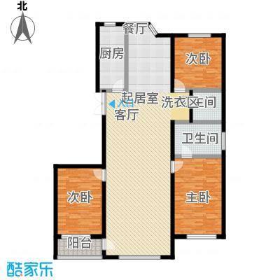 世纪龙鼎149.49㎡3室2厅2卫1厨户型