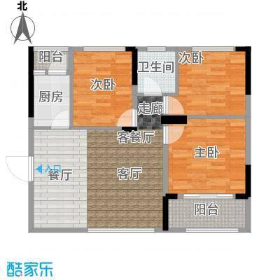 吉东托斯卡纳吉东・托斯卡纳D户型三室一厅一卫约98.42-99.71平米户型图户型3室1厅1卫