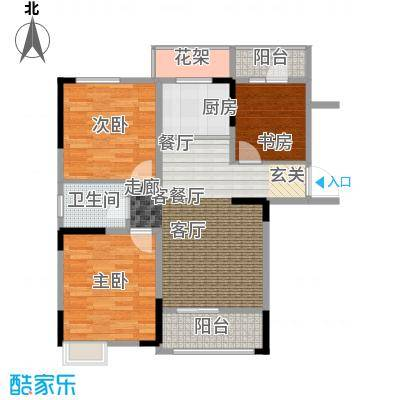 吉东托斯卡纳97.93㎡吉东・托斯卡纳三室两室一卫约97.93-106.39平米户型图户型3室2厅1卫