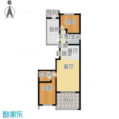 大唐天下江山大唐天下江山两室两厅两卫133.94平户型图户型2室2厅2卫