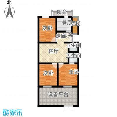 清新家园91.23㎡A2户型