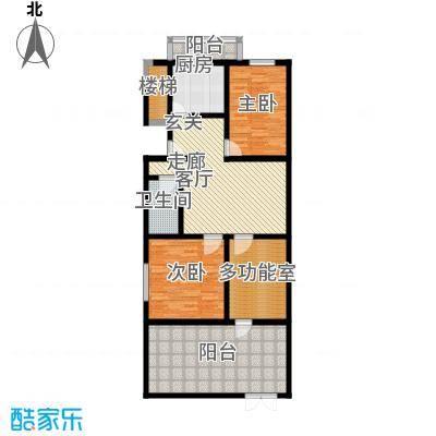 清新家园111.35㎡B2户型