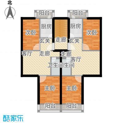 清新家园91.23㎡A户型