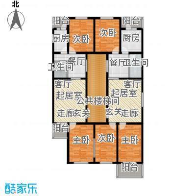 西马庄园48-55号楼户型