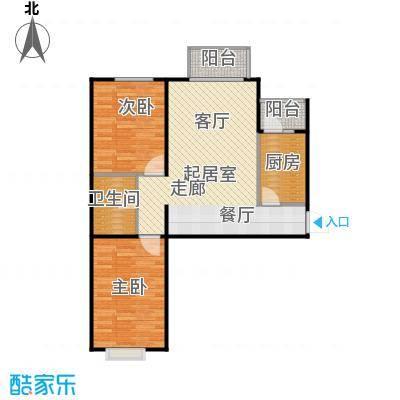 瑞雪春堂89.77㎡B5户型10室