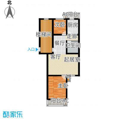 世纪龙鼎124.92㎡3室2厅2卫1厨户型