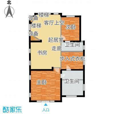 珠江紫宸山141.78㎡K10三层户型10室