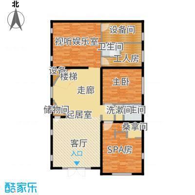 珠江紫宸山143.72㎡K08首层户型10室