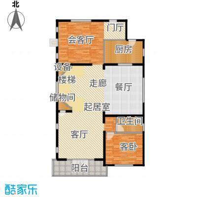 珠江紫宸山149.63㎡K08二层户型10室
