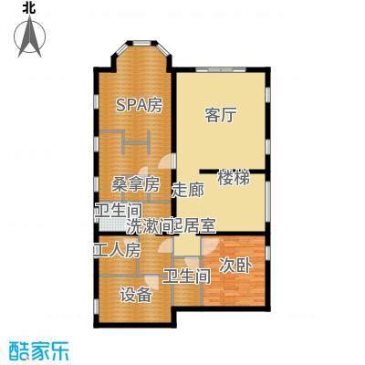 珠江紫宸山132.36㎡K09首层户型10室