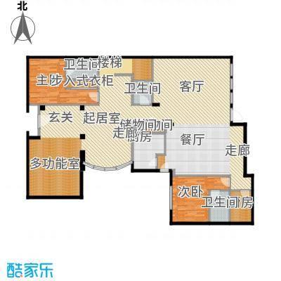 珠江紫宸山181.61㎡C3一层户型10室