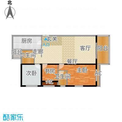 大唐天下江山大唐天下江山三室两厅156.74平户型图户型3室2厅1卫