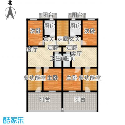 清新家园91.23㎡A3户型