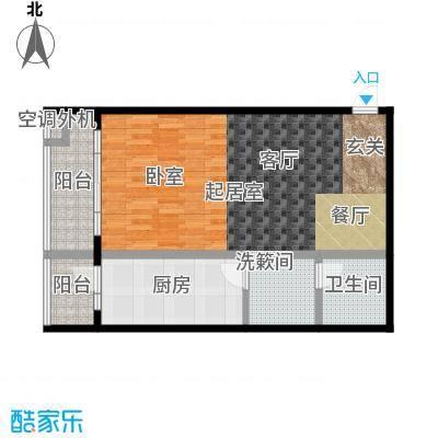 天通・公园里79.46㎡天通・公园里79.46㎡1室2厅1卫户型1室2厅1卫