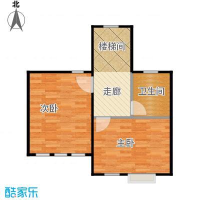天恒别墅山40.94㎡N3阁楼层左户型2室1卫