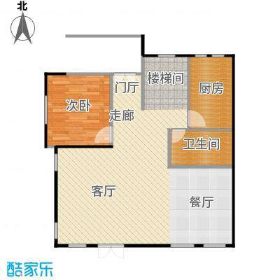 天恒别墅山86.44㎡北入口N3一层左户型10室