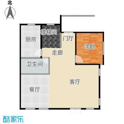 天恒别墅山86.44㎡北入口N3一层右户型10室
