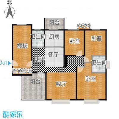 熙晨龙城110.00㎡3+1户型 3室2厅2卫户型3室2厅2卫