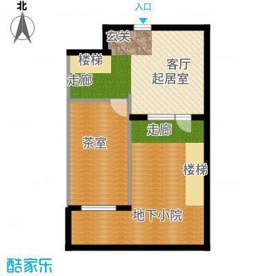 华夏第九园・兰亭YB-1反户型图户型