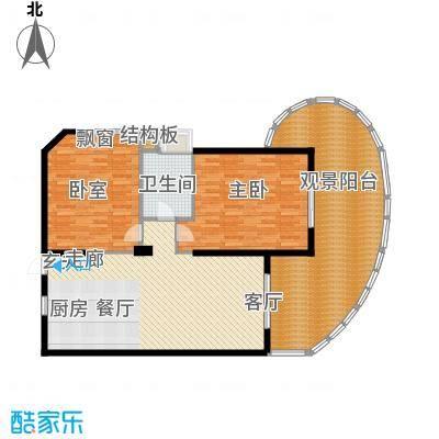 平海・逸龙湾100.00㎡9F型户型