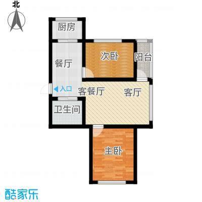 九新雾凇水岸九新雾凇水岸d7户型图2室2厅1卫77.98㎡户型2室2厅1卫