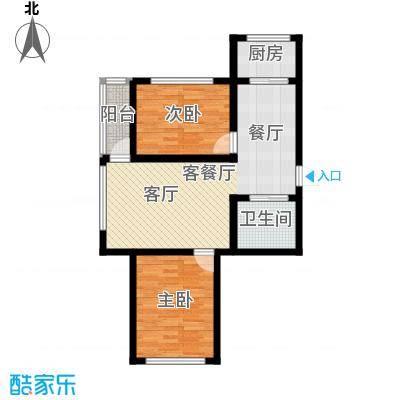 九新雾凇水岸九新雾凇水岸d6户型图2室2厅1卫77.98㎡户型2室2厅1卫