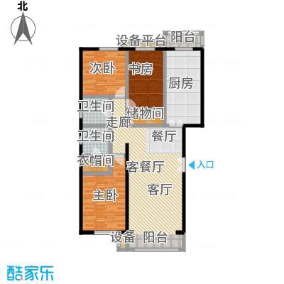 未来城・益宸嘉苑Ja户型