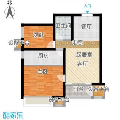 燕京航城92.00㎡22#楼G3户型