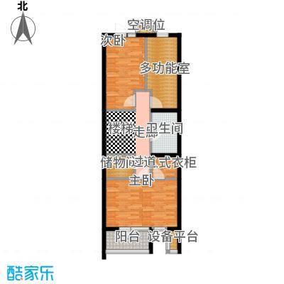尚东庭A区A2号楼7单元二层户型