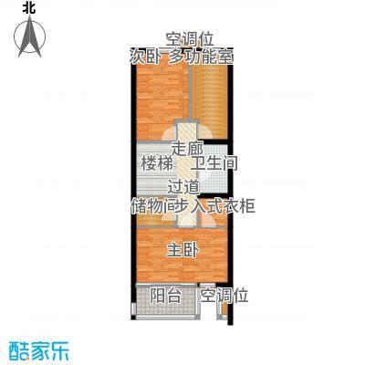 尚东庭A区A1号楼6单元二层户型