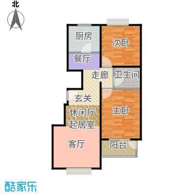 天伦锦城90.02㎡二期1号楼3单元1-10层01户型