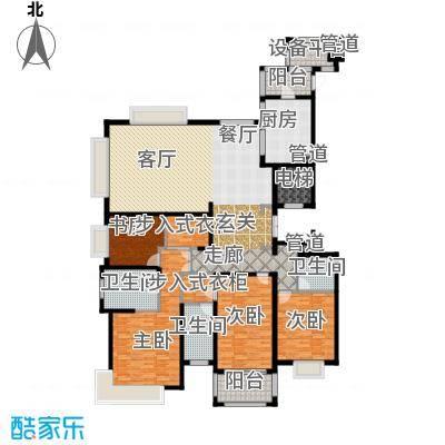 雅戈尔东海府D户型4室1厅3卫1厨