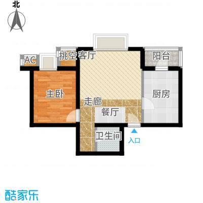 半岛公寓H-2户型