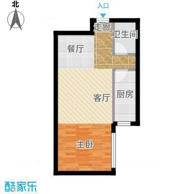 半岛公寓E-1户型